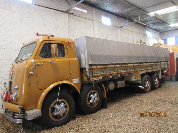 Fiat Fnm D11.000 8x2 Graneleiro - Raridade