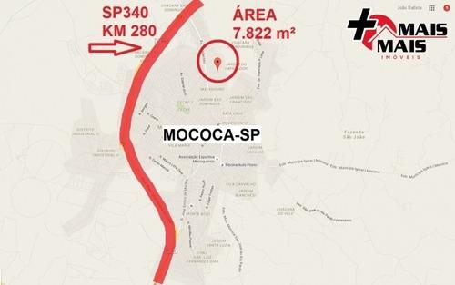 Mococa - Área 7822 M², Ideal P Loteamento, Chácara Ou Sítio - Mais1950a