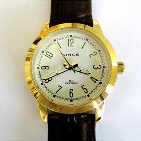 Relógio Lince Feminino Pulseira De Couro Lrc4063s B2mx
