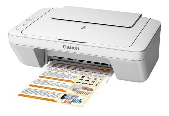 Impressora a cor multifuncional Canon Pixma MG2410 110V/220V branca