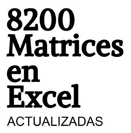 Análisis Precios Unitarios - 8000 Matrices Pu + Bono