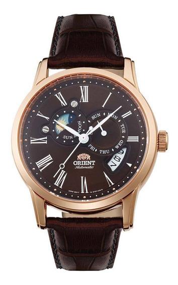 Relógio Orient Star Sapphire Automático Masculino Fet0t003t0