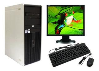 Computadora Completa Dual Core -4gb- Monitor -wifi Factura A