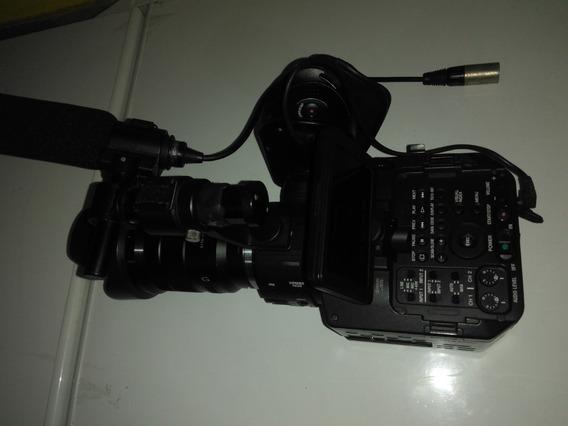 Filmadora Sony Nex Fs 100 Sensor 35 Mm