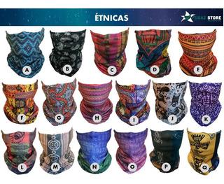 6 X Bandanas Cuellos Tubulares + 60 Diseños Pañuelos Oferta!