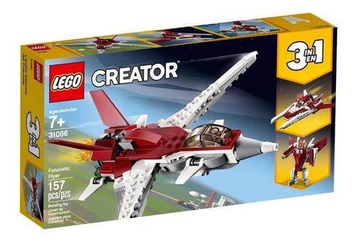 Imagen 1 de 7 de Lego® Creator - Futuristic Flyer (31086) Original Magic4ever