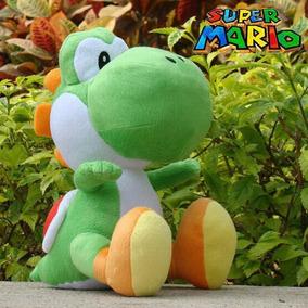 Linda Pelúcia Yoshi 35 Cms - Super Mario Bros - Nintendo