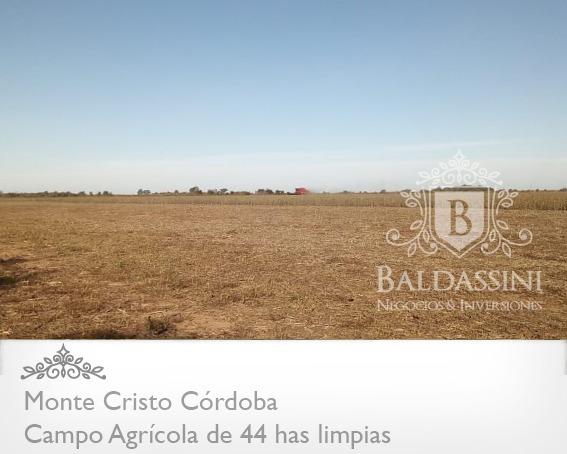 Campo Agrícola De 41 Has En Monte Cristo - Río Primero - Cba
