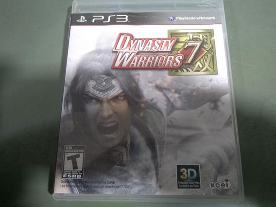 Jogo Seminovo Dynasty Warriors 7 Ps3 Pronta Entrega