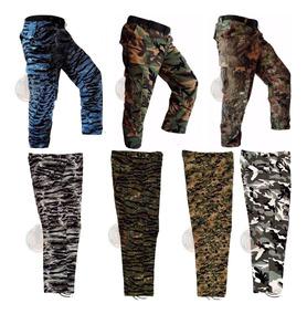 Pantalon Tactico Comando Militar Camuflaje Gotcha Colores