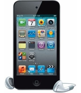 Black For Apple iPod Touch 8gb (4th Generation) With Box Pac