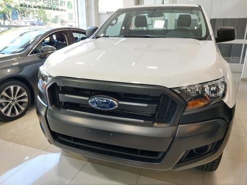 Ford Ranger 2.5 Xl Cabina Doble 4x2 (166cv) Nafta (jaa1) - A