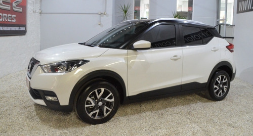Nissan Kicks Sense Mt 2021 Blanco Nafta 1.6 Imperdible!!!