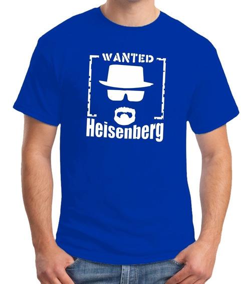 Camiseta Breaking Bad Walter White Heisenberg - 100% Algodão