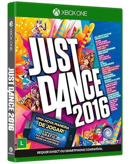 Just Dance 2016 - Xbox One - [ Jogo Mídia Física E Novo ]