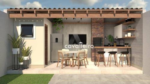 Imagem 1 de 14 de Ótima Casa Com 2 Dormitórios À Venda No Jardim Atlântico Central (itaipuaçu) - Maricá/rj - Ca4847