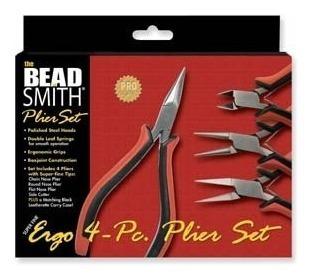 Kit De 4 Pinzas De Bisuteria Bead Smith