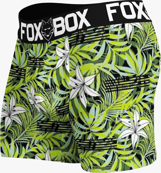 Cueca Boxer Kit 12 Elástico Bordado Original Box Fox Revenda