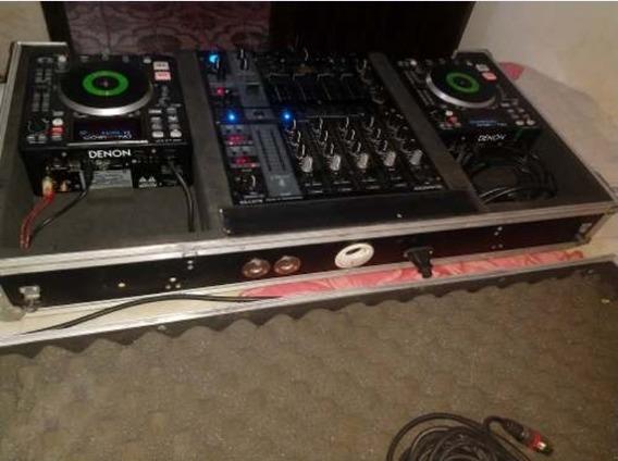 Cdj Denon Dn-s1200 Usb,midi,mp3 E Mixer Djx750pro Na Case.