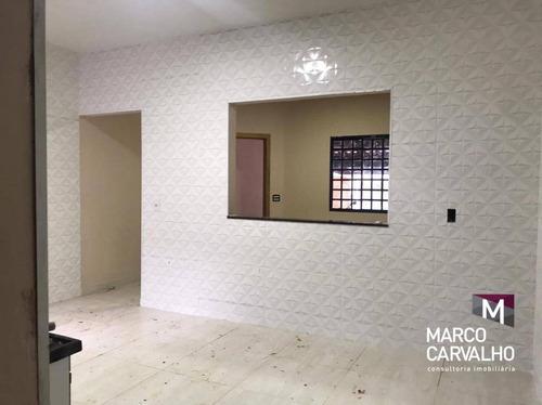 Casa Com 2 Dormitórios À Venda, 92 M² Por R$ 195.000,00 - Jardim Flamingo - Marília/sp - Ca0741