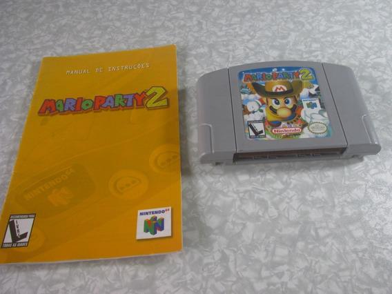 Nintendo 64 - Mario Party 2 C/ Manual - Original Nacional