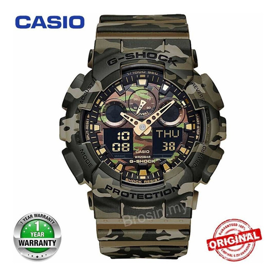 Relógio Casio G Shock Ga-100 Masculino
