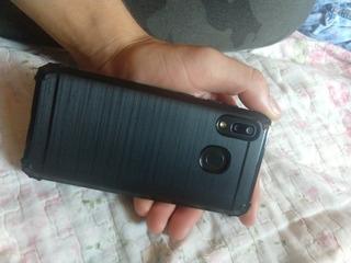 Celular Samsung Galaxy A20 Preto Com Capinha/película.