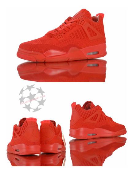 Air Jordan 4 Retro Flyknit Total Red