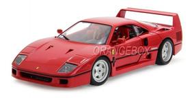 Ferrari F40 Bburago Original Series 1:18 Vermelho Bur-16601r