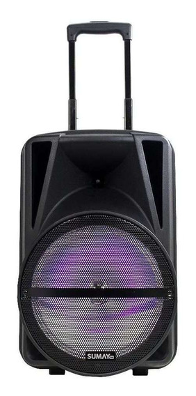 Caixa Amplificada 250w Primus 500bt Sm-cap16 Sumay