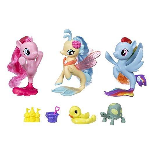 Mi Pequeño Pony La Película Seapony Colección Conjunto