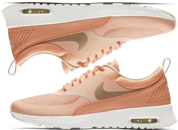 Tennis Nike Mujer Tenis Nike Naranja claro en Mercado