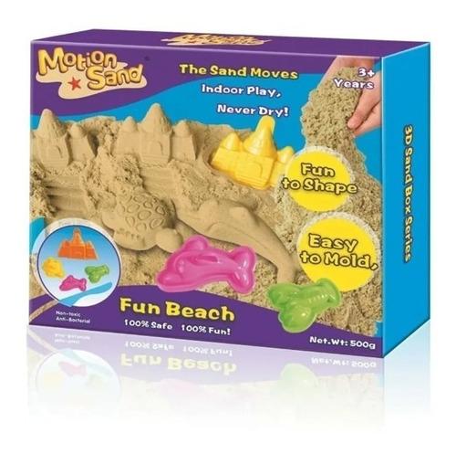 Imagen 1 de 3 de Motion Sand Arena Magica Fun Beach 500gr