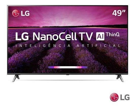 Smart Tv 4k Lg 49 Nanocell Ai 4k Hdr Dolby 49sm8000psa