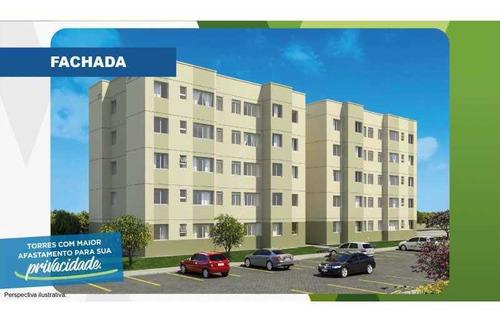 Excelente Apartamento Em Belford Roxo - Viva Vida Naturale!! - Siap20034