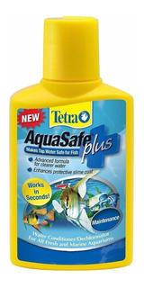 Tetra Aquasafe Plus X 250ml Acondicionador Anticloro