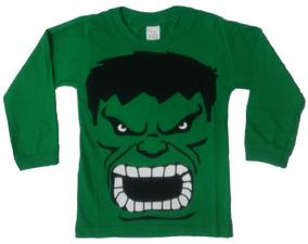 Kit 10 Camiseta Infantil Atacado Manga Longa
