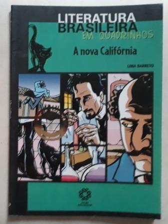 Lima Barreto A Nova California Quadrinhos Literatura Brasil