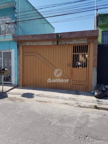 Imagem 1 de 13 de Casa Com 2 Dormitórios À Venda, 103 M² Por R$ 290.000,00 - Vila Feital - Mauá/sp - Ca0107
