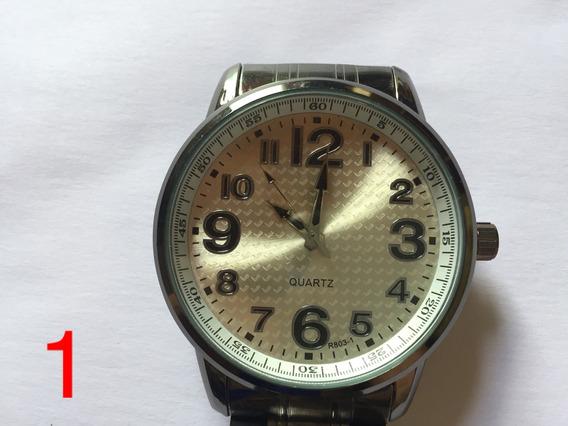 Relógio Masculino Aço Multimarcas Luxo Promoção Frete Gratis