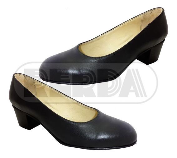 Zapato Dama De Cuero En Cuotas