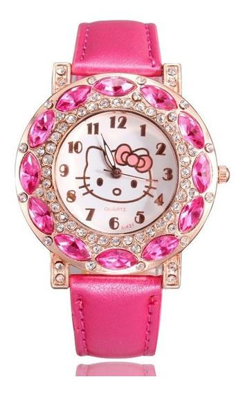 Relógio Hello Kitty Pink