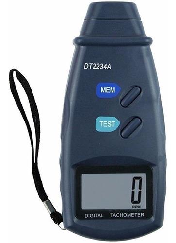 Tacometro Digital Laser Sin Contacto Gralf Dt2234a Rpm Funda