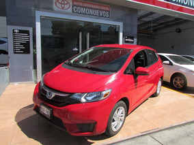 Honda Fit 1.5 Fun Cvt Rojo 2017