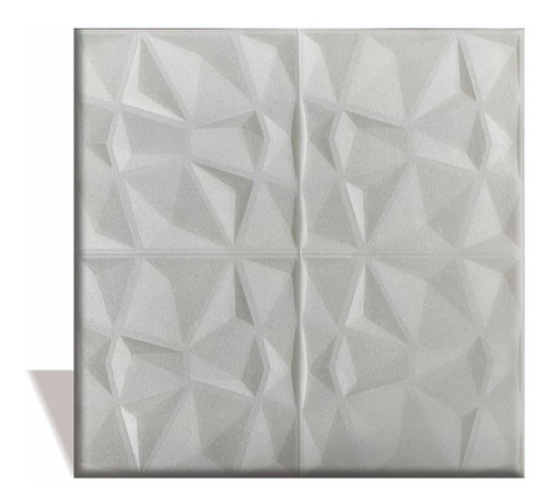 Panel 3d Diamante Adhesivo 70x70 Cm