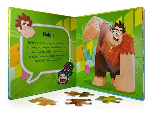 Wifi Ralph  Meu Primeiro Livro Quebra-cabeças