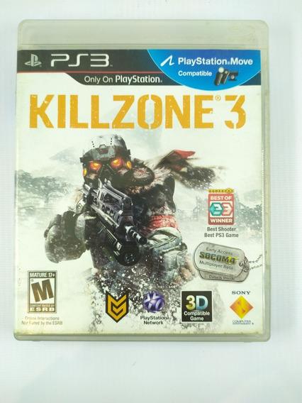 Jogo Ps3 Killzone 3 Mídia Física Original Playstation 3