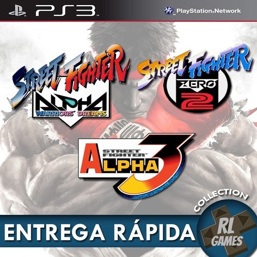 Ps3 Psn* - Street Fighter Alpha Collection