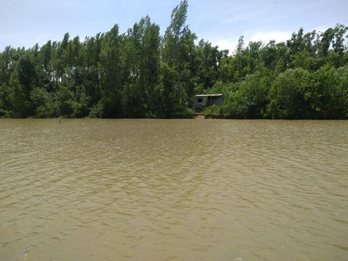 Imagen 1 de 2 de Isla Sobre El Rio Barca Grande, San Fernando, Para Pesca, Nu