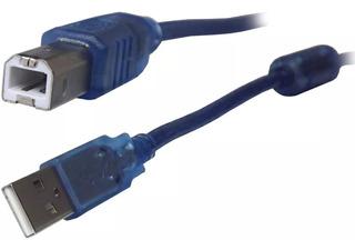 Cable Usb A B 10 Metros De Impresora Scanner Modem Filtro